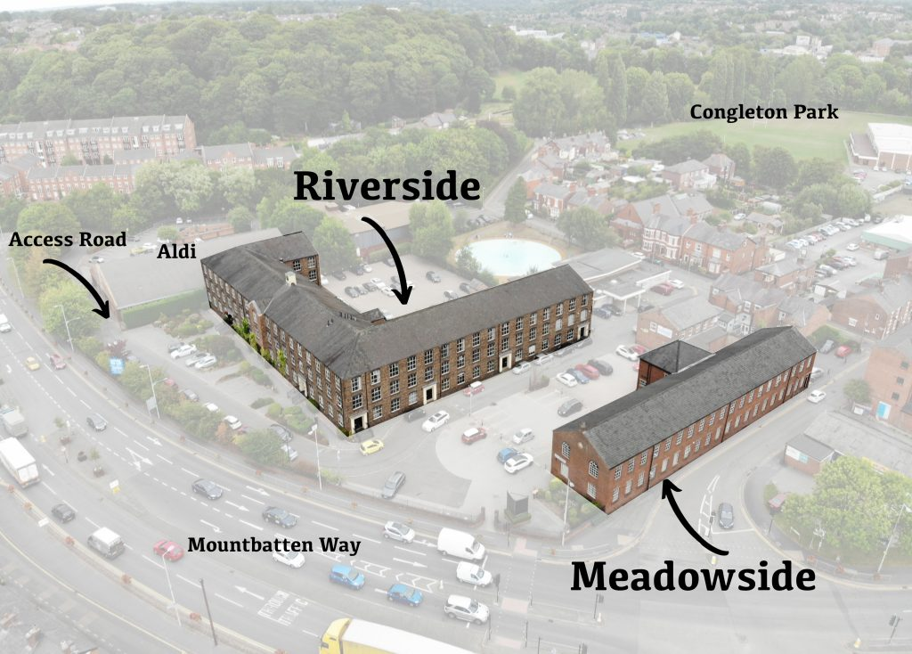 Riverside and Meadowside location Congleton Cheshire Offices